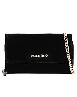 Valentino Bags Venezia Velvet Cross-Body Wallet
