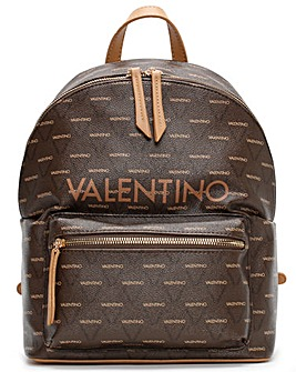 Valentino By Mario Valentino Liuto Logo Backpack