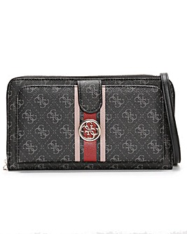 Guess Jensen Cheque Logo Cross-Body