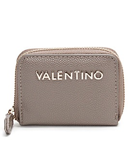 Valentino By Mario Valentino Divina Pebbled Coin Purse