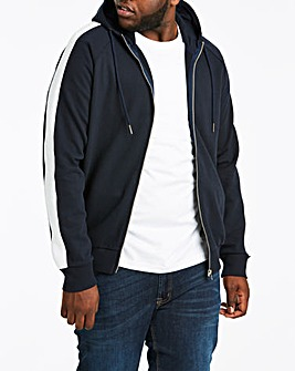 Side Panel Navy Hooded Top R