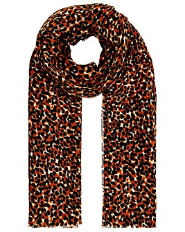 Monsoon ANIMAL PRINT MID WEIGHT SCARF