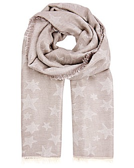 Monsoon STAR JACQUARD BLANKET SCARF