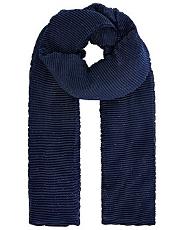 Monsoon LUREX PLEATED OCCASION SCARF
