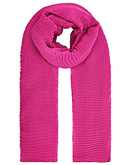 Monsoon PLAIN PLEATED OCCASION SCARF