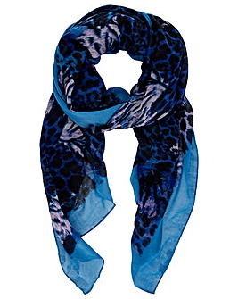 Monsoon ANIMAL PRINT BORDER SCARF