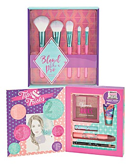 Sunkissed Eye & Cheeks Kit and Brush Set