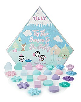 Tilly Christmas Bath Time Advent Calendar