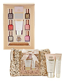 Glitter Manicure and Pedicure Kit