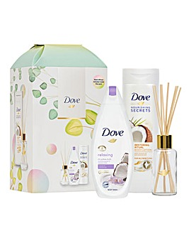Dove Nourishing Secret Ritual Gift Set With Reed Diffuser