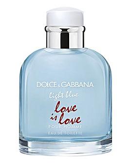 D&G Light Blue Love Is Love Pour Homme 75ml Eau de Toilette