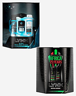 Lynx Africa and Lynx Ice Chill Gift Sets