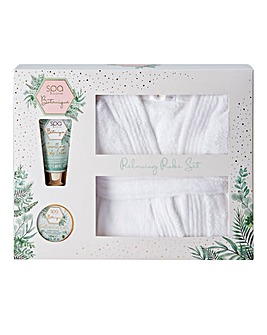 Spa Boutique Relaxing Robe Gift Set
