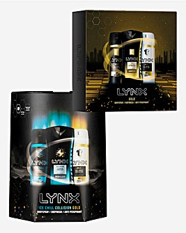 Lynx All Stars and Lynx Gold Gift Sets