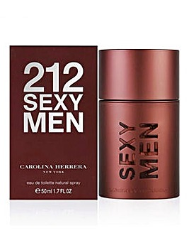 Carolina Herrera 212 Sexy Homme 50ml EDT