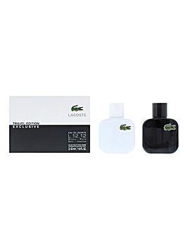 Eau de Lacoste Blanc Noir EDT Gift Set