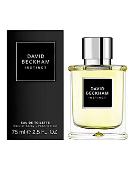David Beckham Instinct Eau De Toilette For Him 75ml