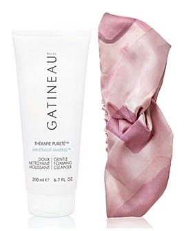 Gatineau Therapie Foaming Cleanser with Free Satin Headband