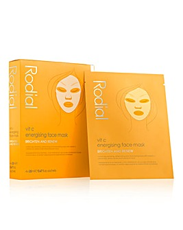Rodial Vitamin C Cellulose Sheet Masks (4 Pack)