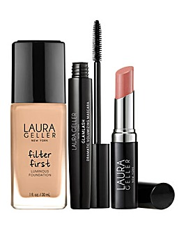Laura Geller Foundation Fundamentals 3 Piece Collection - Beige