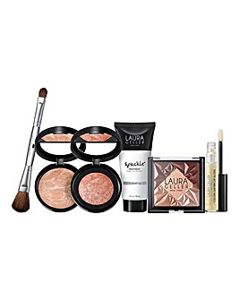 Laura Geller Hollywood Lights 6 Piece Beauty Collection - Medium