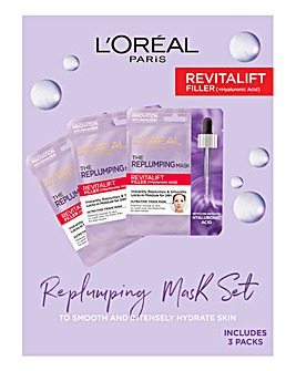 L'Oreal Replumping Tissue Mask Set