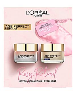 L'Oreal Rosy Ritual Skincare Gift Set
