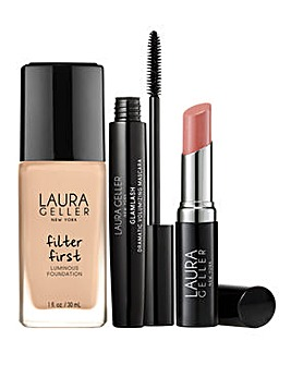 Laura Geller Foundation Fundamentals 3 Piece Collection - Buff