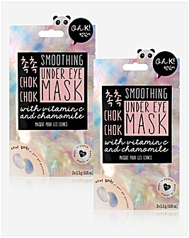 Oh K! Chok Chok Smoothing Under Eye Mask x2