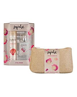 Impusle Beauty Bag & Fragrance Gift Sets