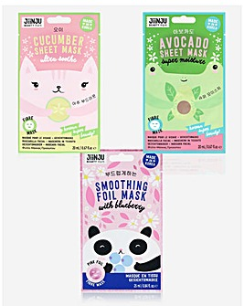 Jiinju Soothing Face Mask Bundle