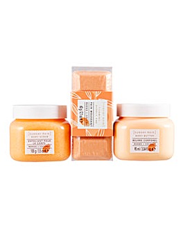Sunday Rain Mango & Coconut Body Set