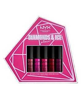 NYX Professional Makeup Diamonds & Ice Please Soft Matte Liquid Lip Vault