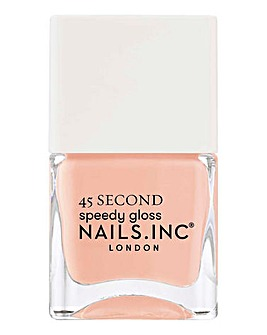 Nails Inc Cruising In Carnaby Street 45 Second Speedy Gloss Nail Polish