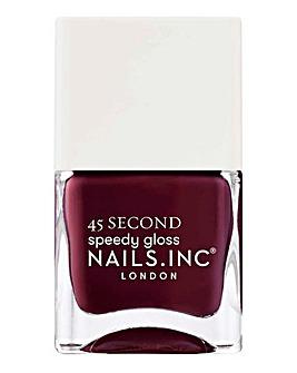 Nails Inc Meet Me On Regents Street 45 Second Speedy Gloss Nail Polish