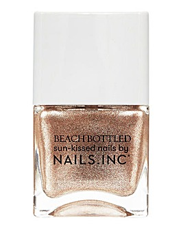 Nails Inc Beach Bottled Well Baked Nail Polish