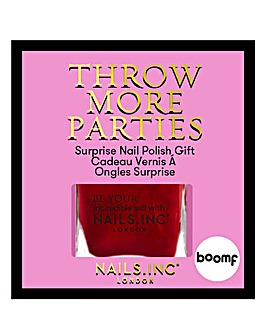 Nails Inc X Boomf - Red Pearl Nail Polish