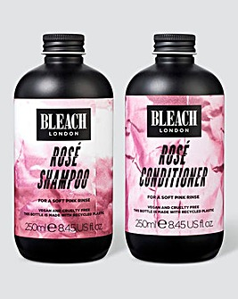 Bleach London Rose Shampoo & Conditioner Duo