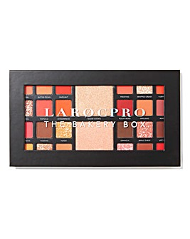 LaRoc PRO The Bakery Box Eyeshadow Palette