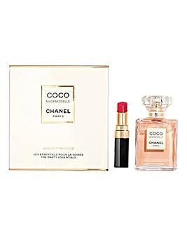Chanel Coco Mademoiselle Intense Eau de Parfum 35ml & Rouge Lipstick Gift Set