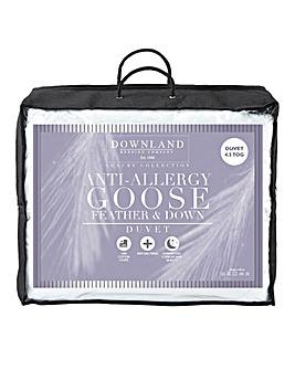 Anti Allergy Goose Feather Duvet 15 Tog