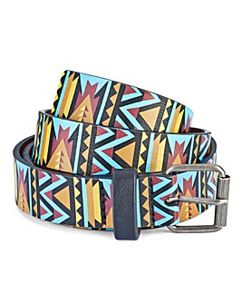 Label J Aztec Belt