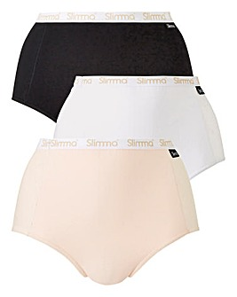 3 pack Slimma Control Briefs