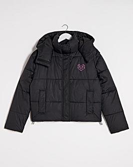 Pink Soda Lax Padded Jacket