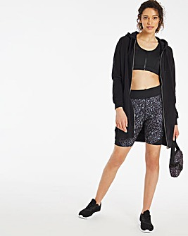 Sustainable Active Leopard Shorts