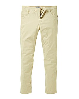 Label J Stretch Twist Tapered Chino 33In Leg Length