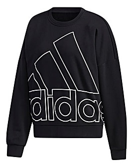 adidas Favourites Big Logo Sweatshirt