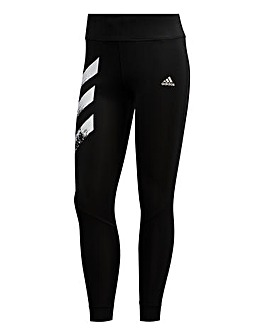adidas Own The Run 3-Stripes Fast Tights