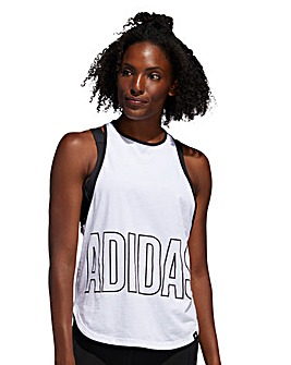 adidas Alphaskin Graphic Tank Top