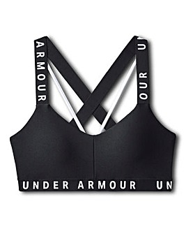 Under Armour Wordmark Strappy Sports Bra